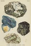 Silicates, sodalite, lapis-lazuli, leucite, beryl