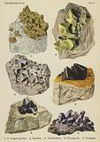 Sulphur-salts, copper-pyrites, smaltite, tetrahedrite, pyrargyrite, proustite