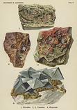 Sulphides and arsenides, niccolite, cinnabar, mispickel