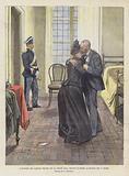 L'Incontro Del Capitano Dreyfus Con Sua Moglie Nella Prigione Di Rennes, La Mattina Del 1° Luglio