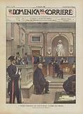 Il Processo Notarbartolo Alle Assise Di Milano, La Gabbia Degli Imputati