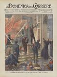 L'Incendio Del Presepio Nella Casa Dei Padri Salesiani A Roma, Il 2 Gennaio