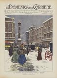 La Nevicata Della Settimana Scorsa, A Milano