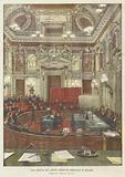 Una Seduta Del Nuovo Consiglio Comunale Di Milano