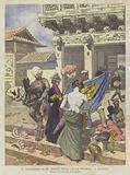Il Saccheggio Di Un Tempio Nella Citta Proibita A Pechino