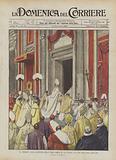 La Cerimonia Della Chiusura Della Porta Santa in San Pietro Alla Fine Dell'Anno Giubilare