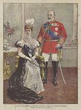 Il Principe Alberto Edoardo E La Principessa Alessandra Di Galles, Nuovi Sovrani D'Inghilterra