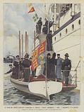 Il Viaggio Del Principe Ereditario D'Inghilterra in Australia, I Sovrani Abbandonano L'Ophir …