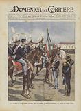Il Re Consegna La Vecchia Gloriosa Bandiera, Tolta Dall'Armeria Di Torino, All'Artiglieria Nel …
