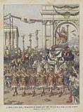 Il Trionfo Di Giulio Cesare, Uno Dei Quadri Del Grandioso Ballo Amor Che Si Da Ora Al Teatro Alla Scala Di Milano