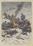 Un Distaccamento Di Duecentodieci Soldati Giapponesi Smarritosi Fra La Neve E Completamente Perito