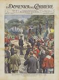 Nel XX Anniversario Della Morte Di Garibaldi, Il Pellegrinaggio Nazionale A Caprera
