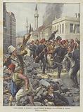 I Gravi Disordini Di Salonicco, I Bulgari Spargono Il Terrore Lanciando Bombe Di Dinamite
