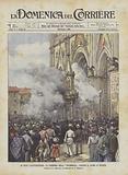Le Feste Caratteristiche, La Cerimonia Della Palombella Davanti Il Duomo Di Orvieto