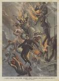 Il Drammatico Incendio Del Magasin Parisien Di Budapest, Impiegati E Compratori Si Gettano Dalle …