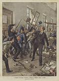 I collegiali dell'ospizio Garibaldi a Palermo si ribellano contro i maestri