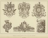 Examples of Heraldic Designs of the XVII and XVIII Centuries