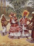 Sinhalese Devil-Dancers