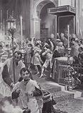 A Religious Dance, Seville