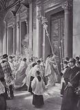 A Lenten Custom, Rome