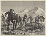 "Swedish Peasants ""prospecting"" for Lake Ore"
