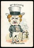 Mr Grimwig, Old Obstinate