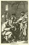 Peter rebuked by Paul