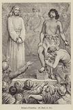 Release of Barabbas, St Mark XV, 15