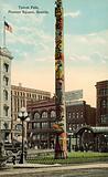 Totem Pole, Pioneer Square, Seattle, USA