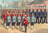 Queen Victoria's Diamond Jubilee 1897, Hong Kong, Straits Settlements, British Guiana Police …