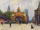 The Canadian Arch, Whitehall, in June 1902