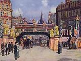 Ludgate Circus in June 1902