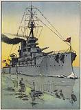 Admiral Jellicoe's Flagship, HMS Iron Duke
