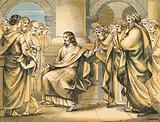Jesus rebukes the Scribes and Pharisees