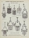 Page from Harrods catalogue, 1903