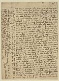 Fac-simile of Letter of Oliver Cromwell to Mr Storie, dated St Ives, 11 January 1635–6