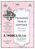 Advertisement for Twinings