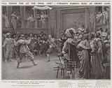 """I'll touch you at the final line"", Cyrano's famous duel at Drury Lane"