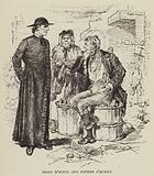 Biddy M'Flinn and Father O'Quigly