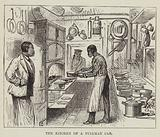 The Kitchen of a Pullman Car