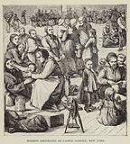 Mormon Emigrants at Castle Garden, New York