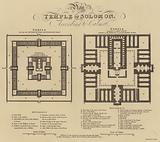 Plan of the Temple of Solomon, according to Calmet