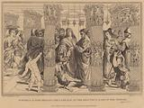 St Peter and St John healing the Lame Man, at the Beautiful Gate of the Temple, Acts