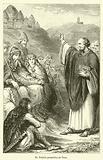 St Patrick preaching at Tara