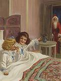 """""""Here's Father Christmas!"""""""