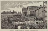 Bishop's house, school, and kitchen, Norfolk Island