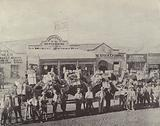 A Camel Train, Coolgardie, West Australia