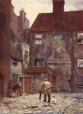 Back of Queen's Head Inn, Southwark, 1884