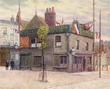 Vine Tavern, Mile End, looking East, 1887