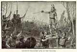 Torismond proclaimed King of the Visigoths